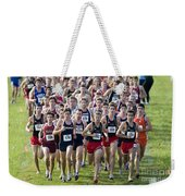 Cross County Race Weekender Tote Bag