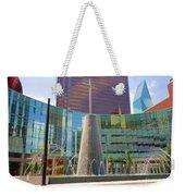 Cross Fountain #1 Weekender Tote Bag