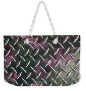 Cross Hatch Weekender Tote Bag