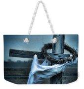Cross In A Field Weekender Tote Bag