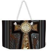 Cross In Leather Weekender Tote Bag