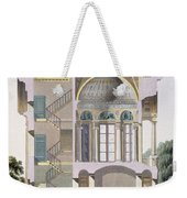 Cross Section Of The Pavilion Weekender Tote Bag