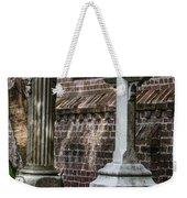 Cross Tombstone Weekender Tote Bag
