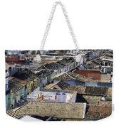 Cross Town.. Weekender Tote Bag