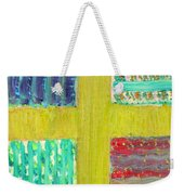 Cross -vegetable- Garden Weekender Tote Bag