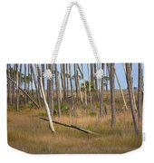 Crossed Trees Weekender Tote Bag