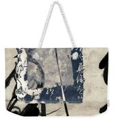 Crossing Indigo Weekender Tote Bag