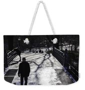Crossing Over - Central Park - Nyc Weekender Tote Bag