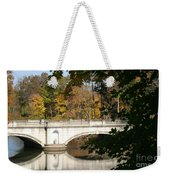 Crossing Over Into Autumn Weekender Tote Bag