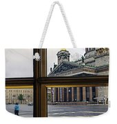 Crossing Over St. Basil Cathedral Weekender Tote Bag