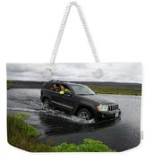 Crossing River Weekender Tote Bag