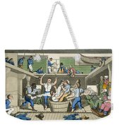 Crossing The Line, Plate From The Weekender Tote Bag