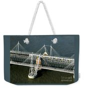 Crossing The Thames Weekender Tote Bag