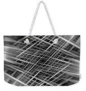 Mono Lines 3 Weekender Tote Bag