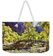 Crossover The Bridge - Zion Weekender Tote Bag