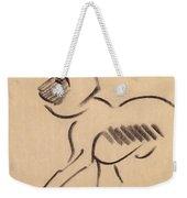 Crouching Monkey Weekender Tote Bag