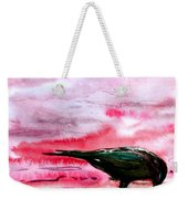 Crow At Dawn Weekender Tote Bag