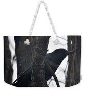 Crow Eye Weekender Tote Bag