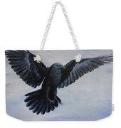 Crow Flight Weekender Tote Bag