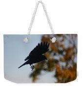 Crow In Flight 1 Weekender Tote Bag