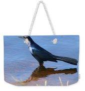 Crow In The Water Weekender Tote Bag