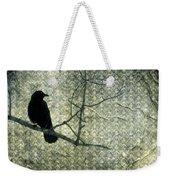Crow Knows Weekender Tote Bag
