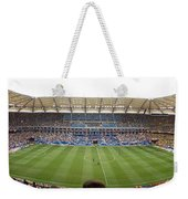 Crowd In A Stadium To Watch A Soccer Weekender Tote Bag