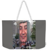 Crowd Watching Weekender Tote Bag