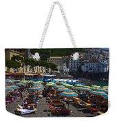 Crowded Beach Weekender Tote Bag