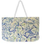 Crowding My Head Weekender Tote Bag