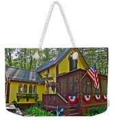 Crowell's Thicket In Asbury Grove In South Hamilton-massachusetts  Weekender Tote Bag