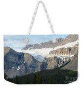 Crowfoot Glacier Weekender Tote Bag