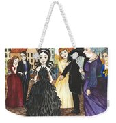 Crowgirl In The Dress Weekender Tote Bag