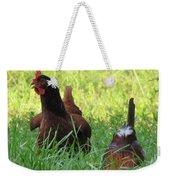 Crowing Rooster Weekender Tote Bag