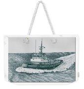 Crowley Tugboat Ocean Going Gladiator Weekender Tote Bag