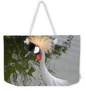Crown Bird 1 Weekender Tote Bag