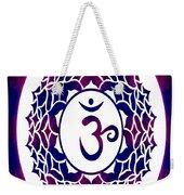 Crown Chakra Abstract Spiritual Artwork By Omaste Witkowski Weekender Tote Bag