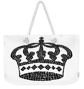 Crown Graphic Design Weekender Tote Bag