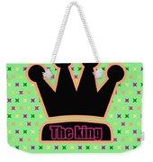 Crown In Pop Art Weekender Tote Bag by Tommytechno Sweden