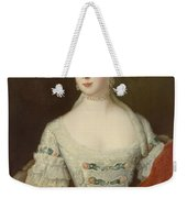 Crown Princess Elisabeth Christine Von Preussen, C.1735 Oil On Canvas Weekender Tote Bag