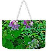 Crown Vetch And Catnip In Pipestone National Monument-minnesota Weekender Tote Bag