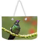 Crowned Hummingbird Weekender Tote Bag