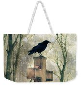 Urban Graveyard Crows Weekender Tote Bag