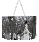 Crows In Gothic Winter Wonderland Weekender Tote Bag