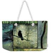 Crows In Nature Collage Weekender Tote Bag