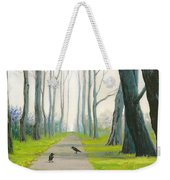 Crows On The Path Weekender Tote Bag