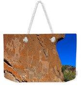 Capital Reef Rock Art Panel A Weekender Tote Bag