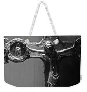 Crucifix Illuminated Weekender Tote Bag