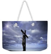 Crucifix In The Light Weekender Tote Bag