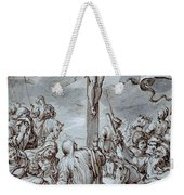 Crucifixion Weekender Tote Bag by Johann or Hans von Aachen